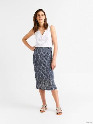 Faldas Estampadas