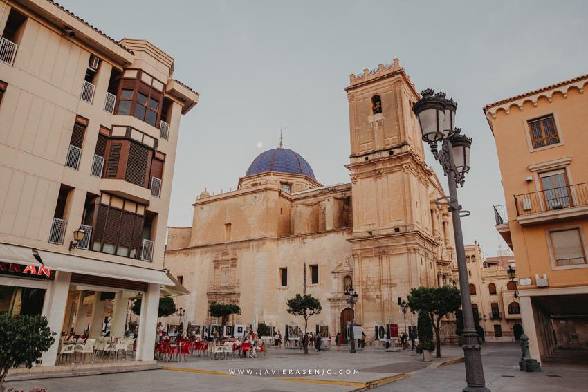 basílica de Santa María Elche