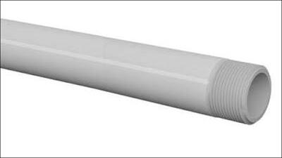 canos de PVC roscável