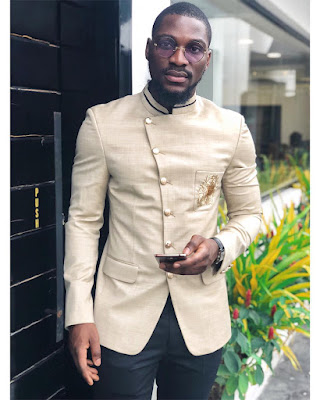 #BBNaija's Tobi Bakre in dapper new photos