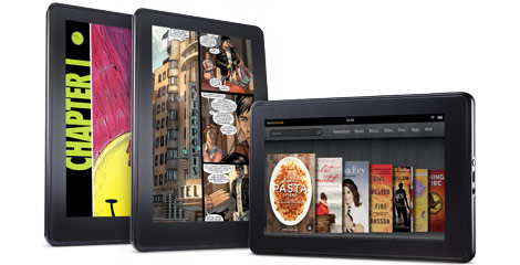 Kindle Fire vs Nook Tablet