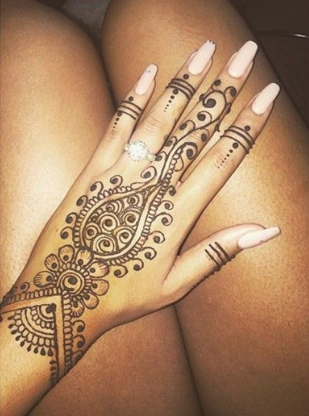 Contemporary Mehndi Designs For Hands