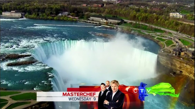 Niagara Falls in The Amazing Race Canada
