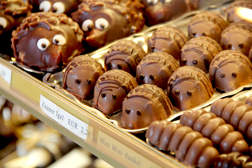 Hedgehog Chocolates   Austria