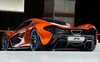 Wallpaper: Volcano Orange McLaren P1