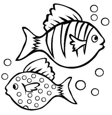 coloring pages cartoon fish - photo#16