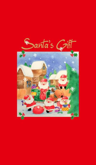 Santa's Gift-Merry Christmas-2