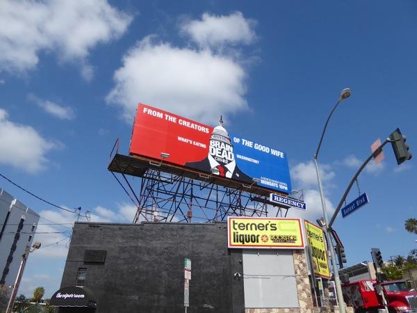 BrainDead tv series billboard