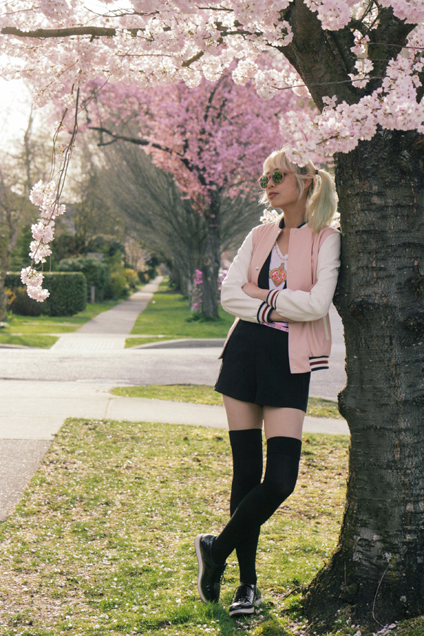 nerdy spring outfit for a nerd fashion blogger