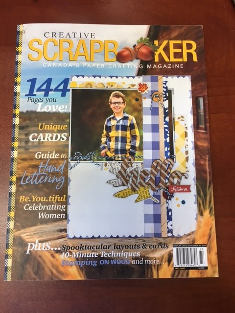 Creative Scrapbooker Magazine Fall 2017