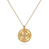May Birthstone Pendant with Lily - Satya Jewelry - Jewellery Blog