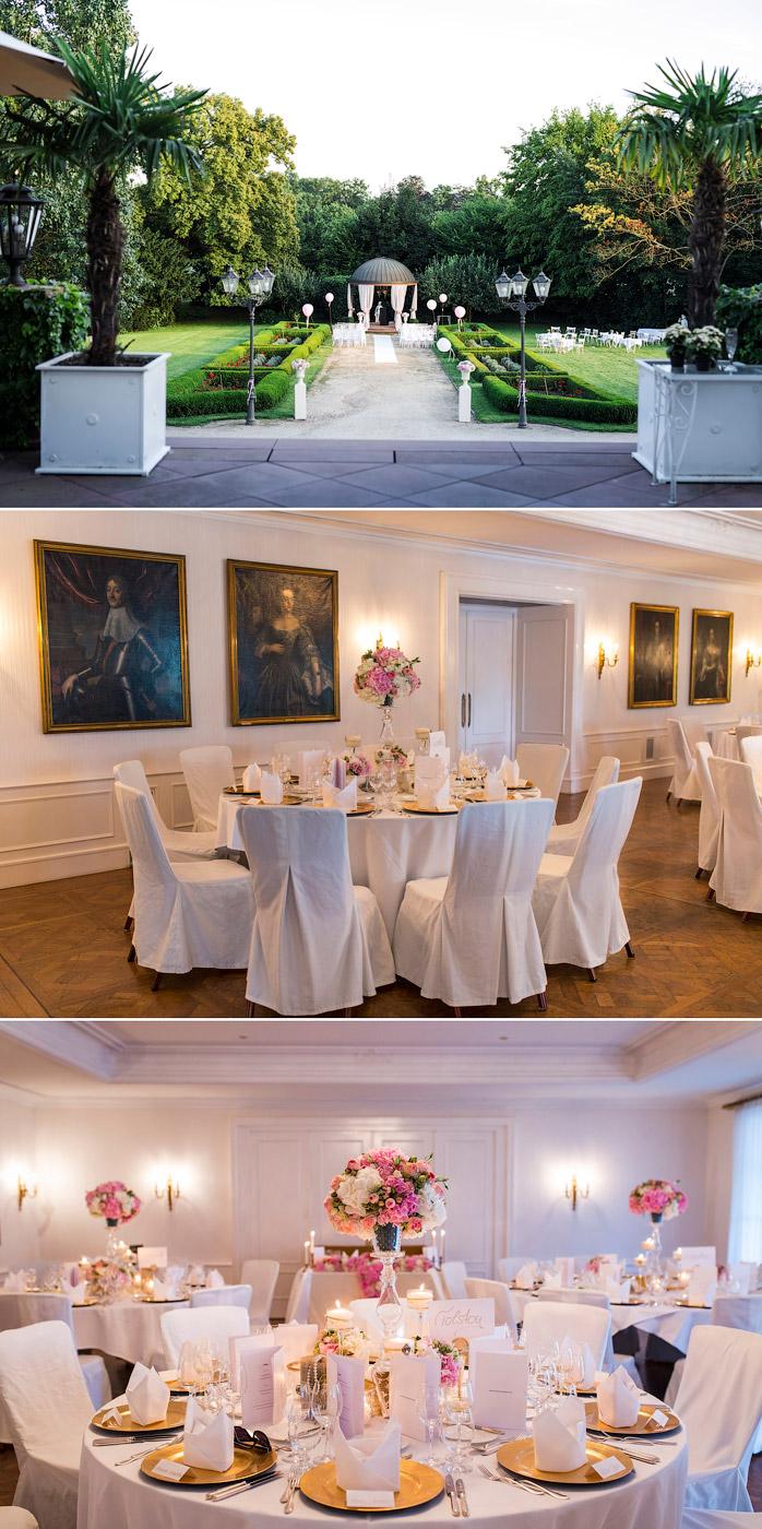 Luxushochzeit im Schloss Reinhartshausen