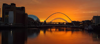 Quayside - Sunset October 2016