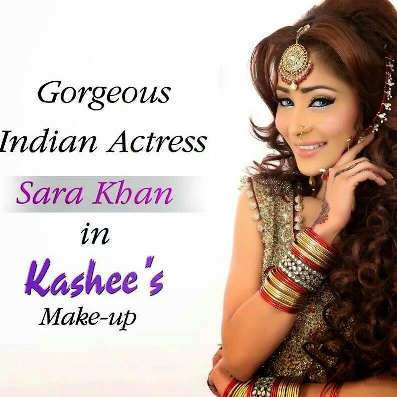 Makeup Indian Actress Having Makeup By Kashee S Beauty