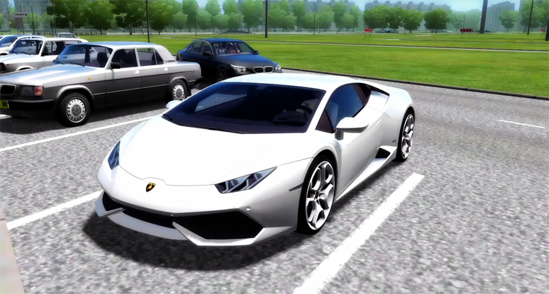 city car driving 1 4 1 lamborghini huracan lp 610 car mod. Black Bedroom Furniture Sets. Home Design Ideas