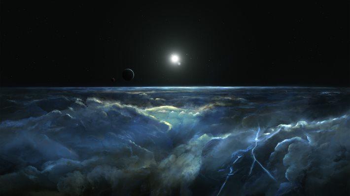 Wallpaper: Stormy Atmosphere of Merphlyn