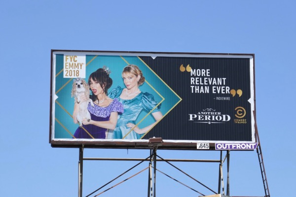 Another Period season 3 Emmy FYC billboard