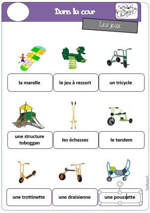 Zabawki - słownictwo 4 - Francuski przy kawie
