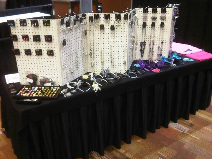 Jewelry For Five Support Duct Tape Folding Display
