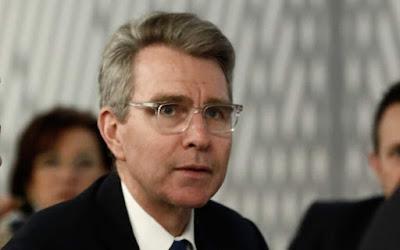 Στην Μουργκάνα στις 13 Αυγούστου ο Πρέσβης των ΗΠΑ, κ. G. Pyatt