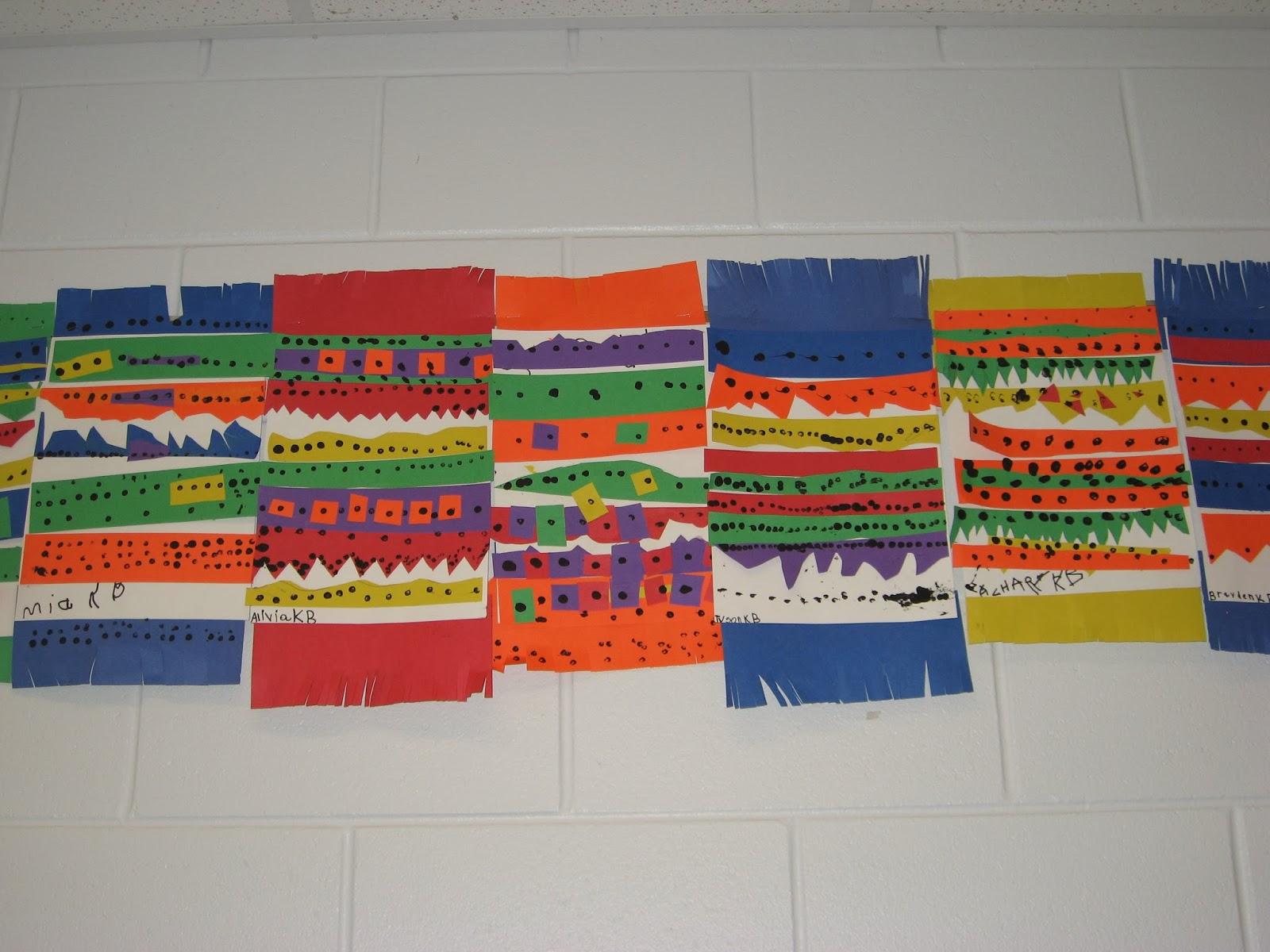 Jamestown Elementary Art Blog Kindergarten Mexican