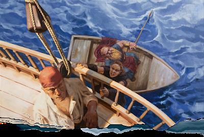 Boarding the Sea Ghost