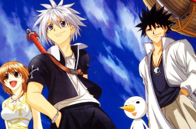 Rave Master - Anime Tokoh Utama Menggunakan Pedang