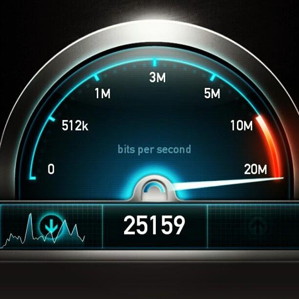 ilustrasi internet cepat 4G LTE