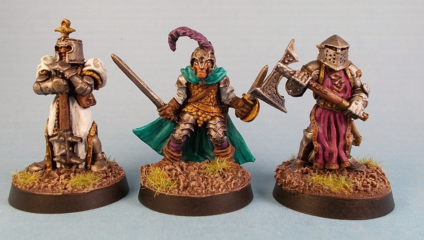 fantasy miniatures and adventure the classic six heroes