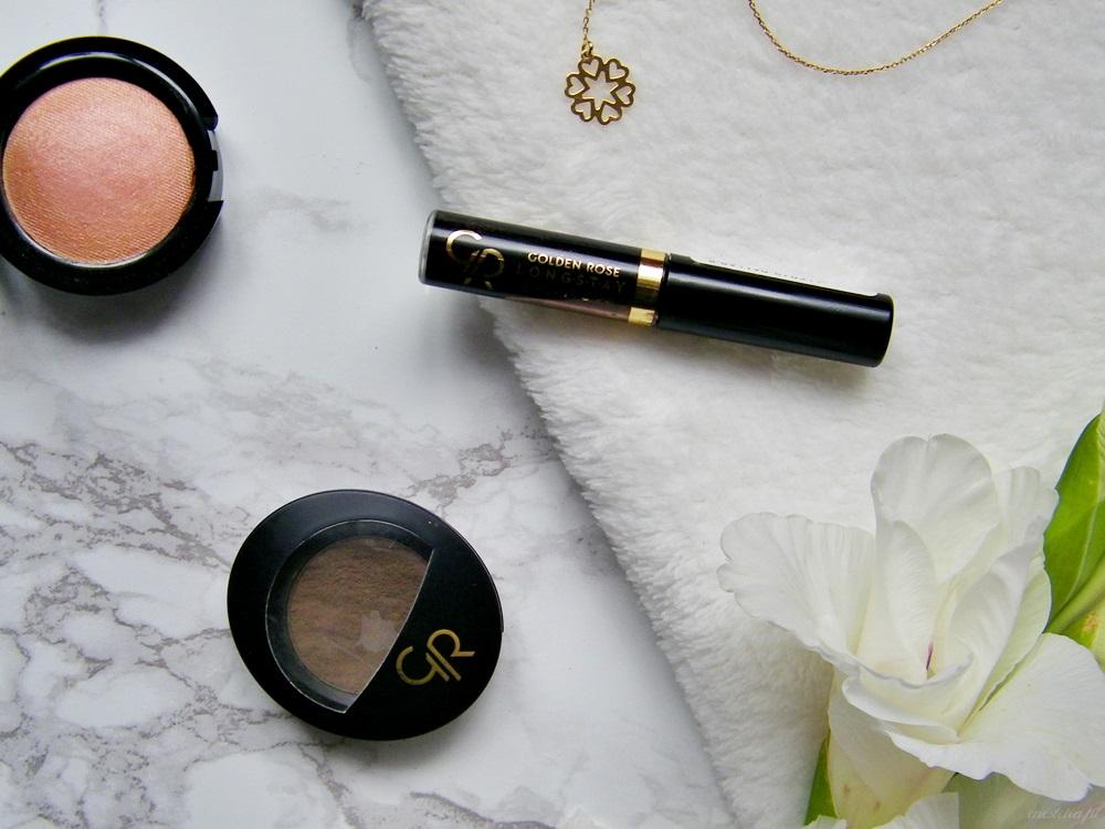 5 kosmetyków do makijażu za mniej niż 20 zł, które musisz wypróbować | puder do brwi Golden Rose, żel do brwi Golden Rose