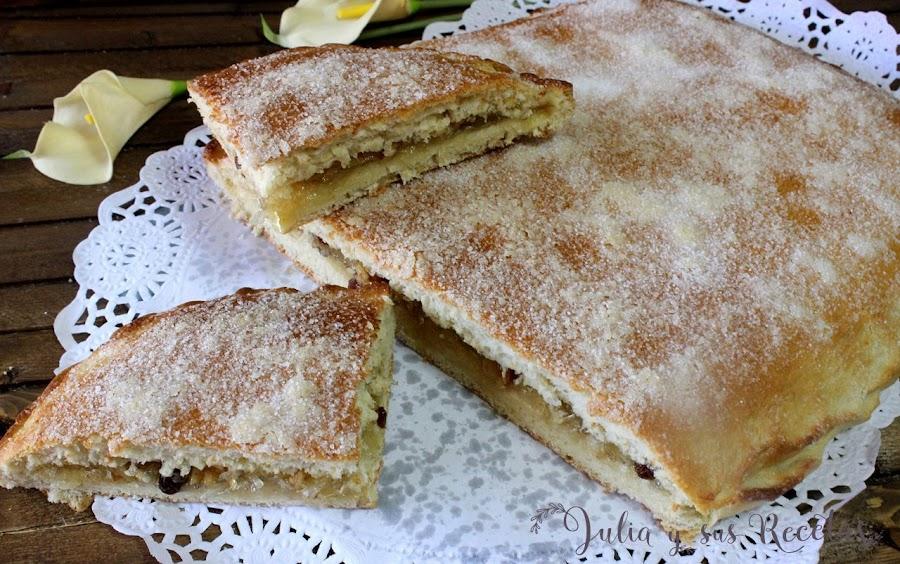 Torta de la Virgen de las Angustias de Granada. Julia y sus recetas
