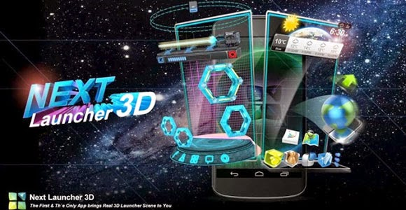 Next Launcher 3D Shell Android