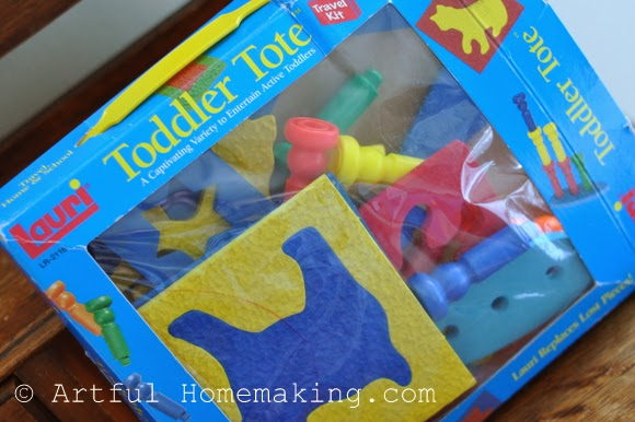 Fine Motor Coordination: Keeping Little Ones Hands Busy. Lauri toddler tote