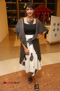 Actress Lakshmi Manchu Pos at Asian Para Badminton Championship Winners Felicitation Ceremony  0083.JPG