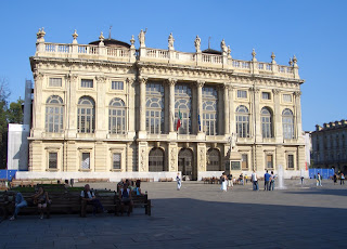 The Palazzo Madama is one of the features of what is known as 'royal' Turin