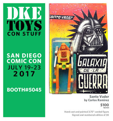 San Diego Comic-Con 2017 Exclusive Star Wars Santo Vader Resin Figure by Carlos Ramirez x DKE Toys