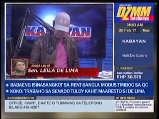 Senador Leila de Lima, sen de5, arrest warrant, de lima arrested