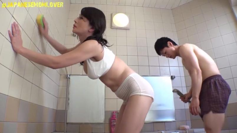 Japanese Mom Son Bondage