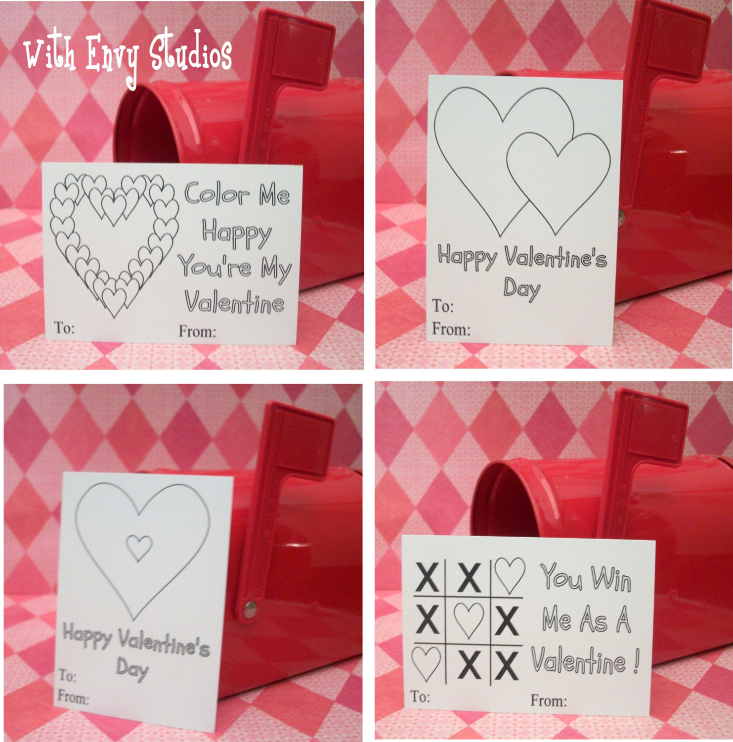 With Envy Studios Updated Free Valentine S Day Printables