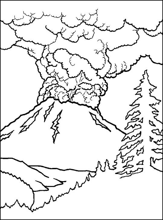 Volcano Acrostic Poem Template | Acrostic Poems, Volcanoes ...