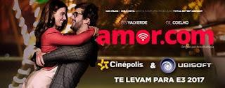 Promoção Cinépolis e Ubisoft 2017 Filme Amor.com Viagem Los Angeles