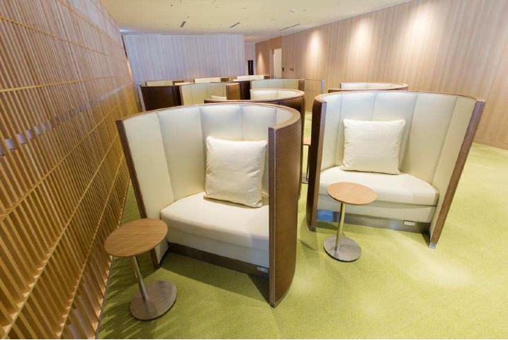 JAL Sakura Lounge at Haneda International Terminal - SKY VIEW