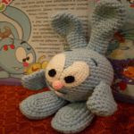 patron gratis conejo jumpy amigurumi | jumpy rabbit amigurumi free pattern