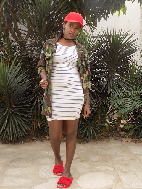 FashionDRA| Lookbook : 02 ways to style a camo jacket