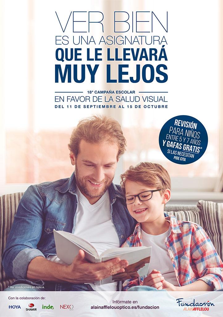 Campaña escolar en favor de la Salud Visual: Edición 2017