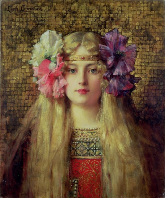 Léon-François Comerre (1850-1934) The Blond Woman