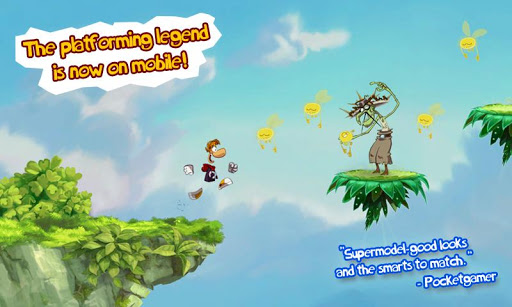 Rayman Jungle Run MOD APK terbaru