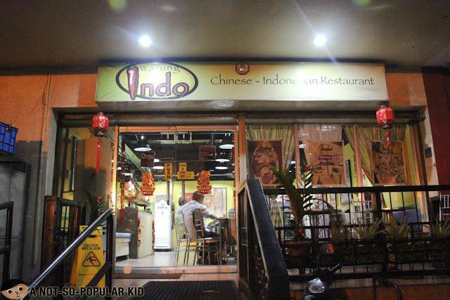 Warung Indo in Legaspi, Makati