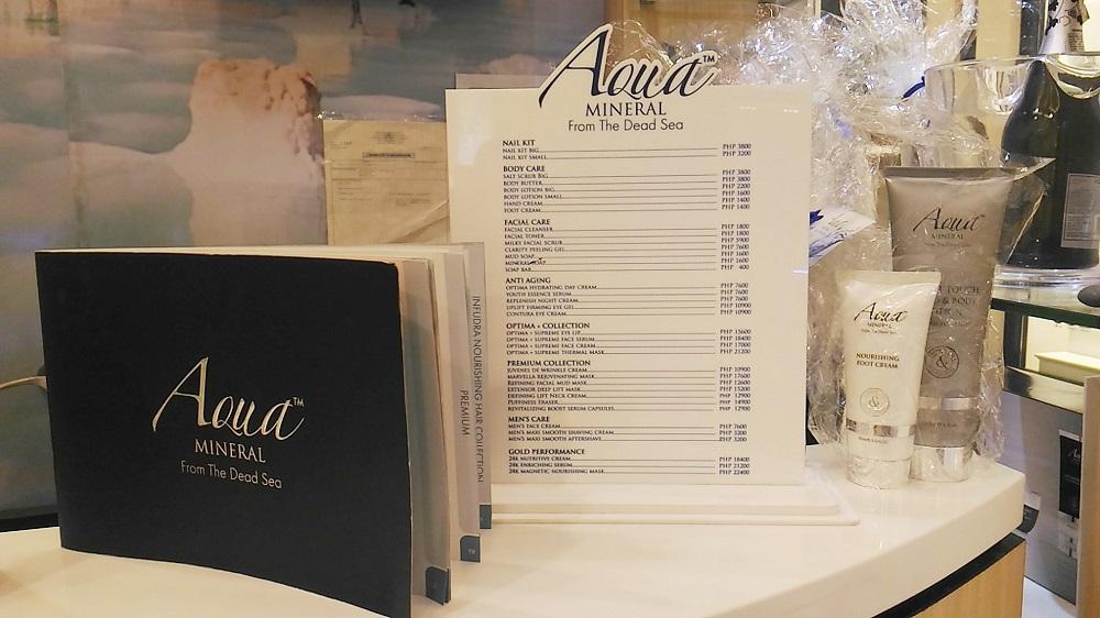 Aqua Mineral skincare