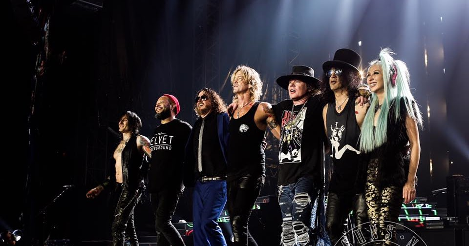 Guns n' Roses amplían su gira de reunión con fechas en Sudamérica